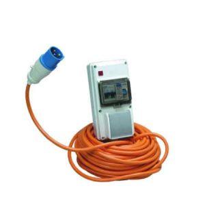 Sunncamp Mono Mains Mobile Supply Unit