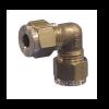 "Gas Connector - 8mm (5/16"") Elbow"