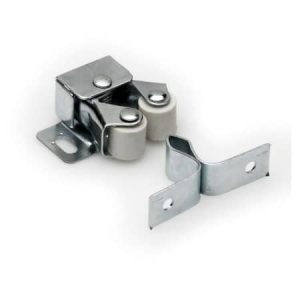 Roller Cabinet Catch Zinc-Plated 32mm 10 Pack