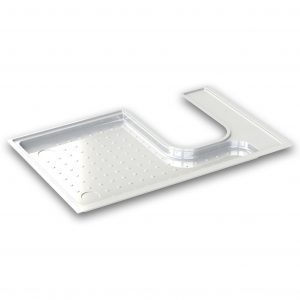 LH / RH Shower Tray Options (to Suit Thetford C200 Cassette Toilet)