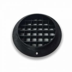 75mm Recessed Short Collar Air Vent